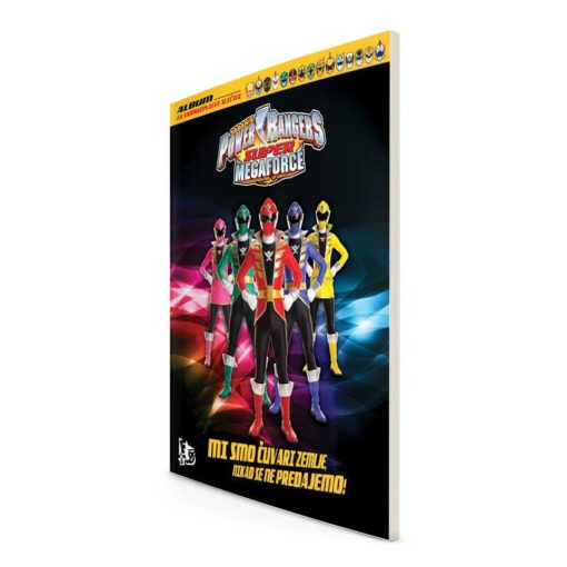 Power ranger Supermegaforce album