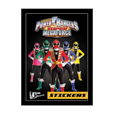 Power Rangers Supermegaforce - Sličice